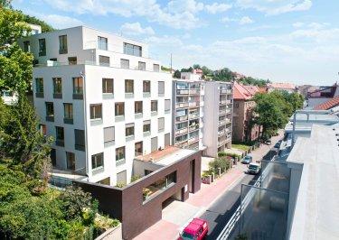 Byt, Penthouse, 4+kk, 8. NP, 172.6 m2, K