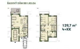 Řadový dům, 4+kk, 141.4 m<sup>2</sup>