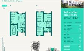Terraced house, 4+kk, 137.7 m<sup>2</sup>