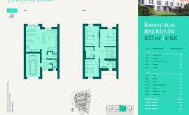 Řadový dům, 4+kk, 137.7 m<sup>2</sup>