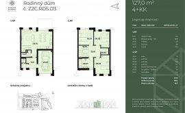 Family house, 4+kk, 124.0 m<sup>2</sup>